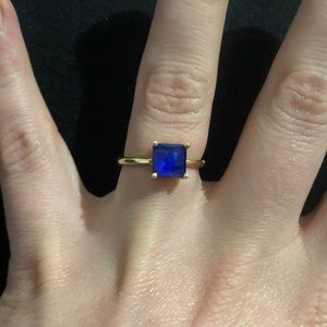 Ippolita lapis gold ring